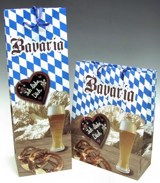 Geschenktasche Bavaria, pro Stück