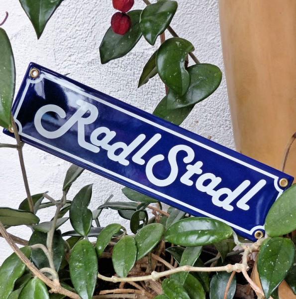 RadlStadl Schild
