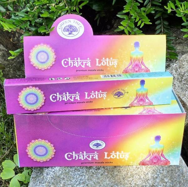 Chakra Lotus, Räucherstäbchen