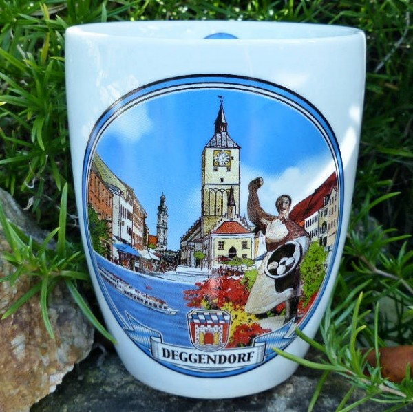 Stadtbild-Haferl Deggendorf