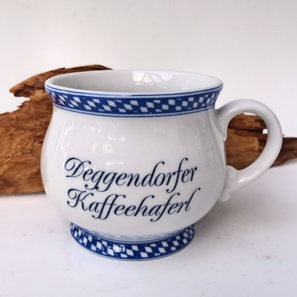 Deggendorfer Kaffeehaferl kariert mini