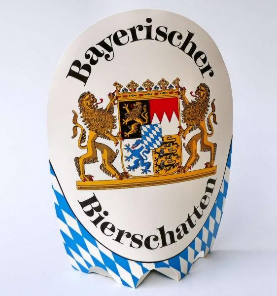 Bayerischer Bierschatten mit Wappen