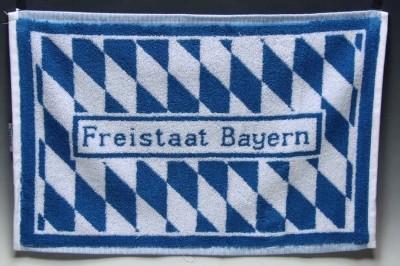 Gästehandtuch, Bayern 30x50cm