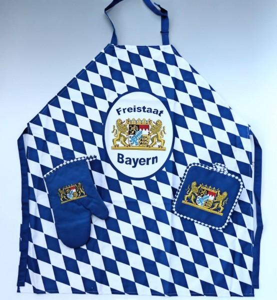 Grillset Bayern, 3-teilig