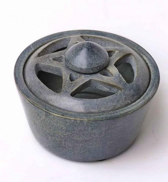 Specksteingefäß Pentagramm