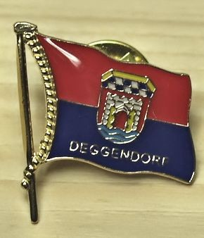 Ansteck-Pin, Flagge Deggendorf