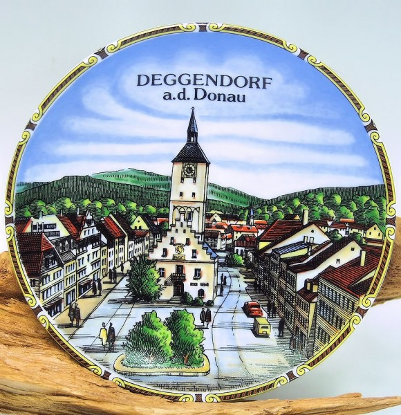 Wandteller Deggendorf 15cm