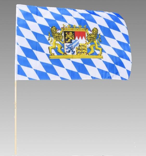 Stockflagge Bayern, 60x90cm