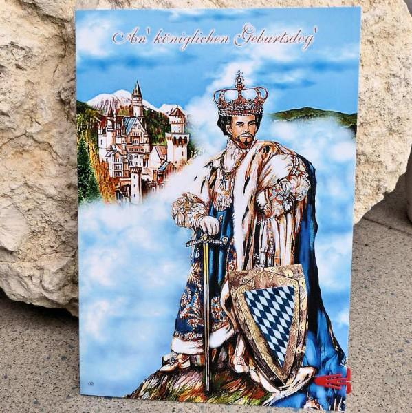König Ludwig Geburtstagskarte, Nostalgia