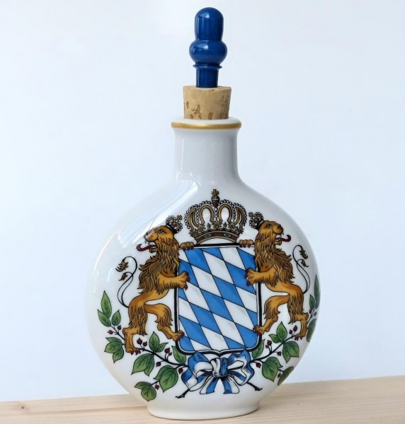 Schnupferflasche XXL, Bayernwappen