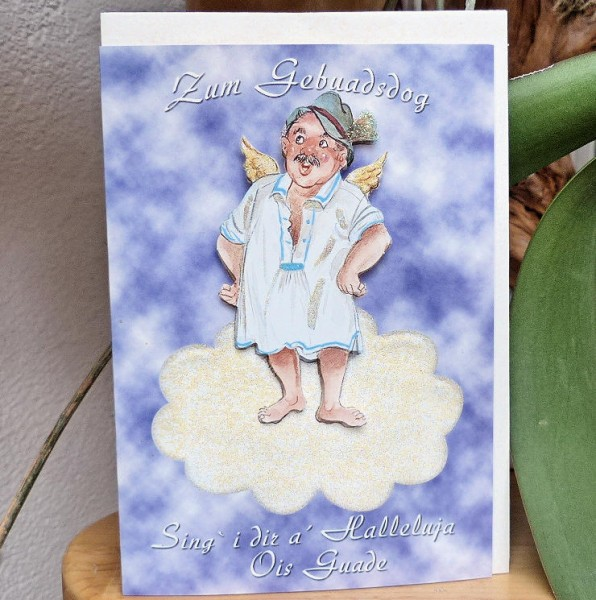 Halleluja Geburtstagskarte