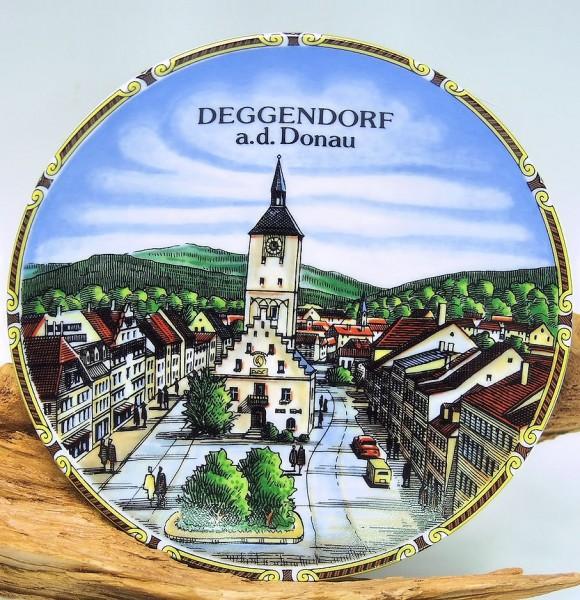 Wandteller, Deggendorf Innenstadt
