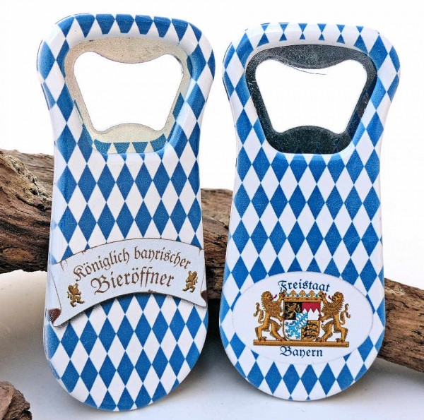 Bieröffner Bavaria, Magnet