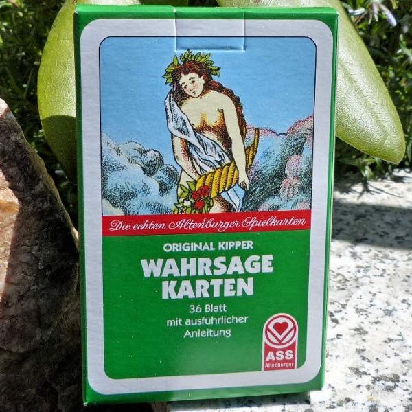 Wahrsage Karten, Original Kipper