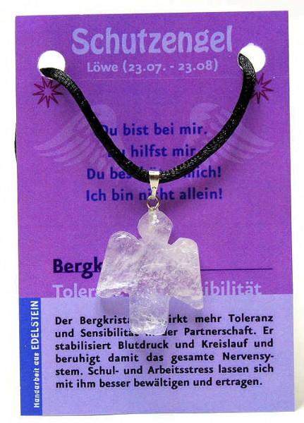 Bergkristall Schutzengel, Anhänger