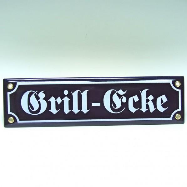 Grill-Ecke Schild