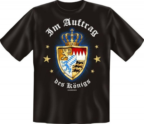T-Shirt, Im Auftrag des Königs