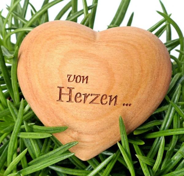 Von Herzen, Holzherz
