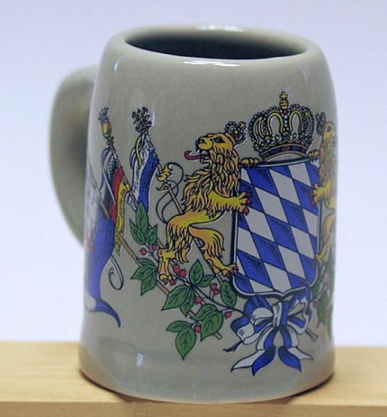 Schnaps-Krügerl mit Wappen