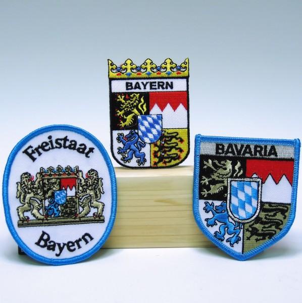 Aufnäher-Patch, Bayern pro Stück