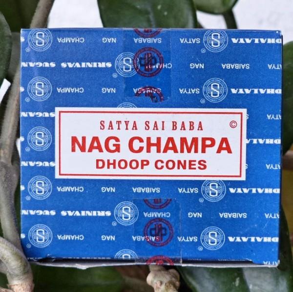 Nag Champa Räucherkegel