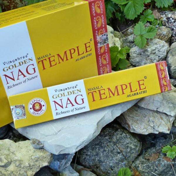 Golden Nag Temple, Räucherstäbchen