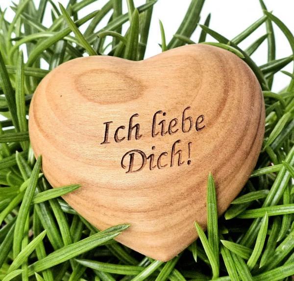 Ich liebe Dich, Holzherz