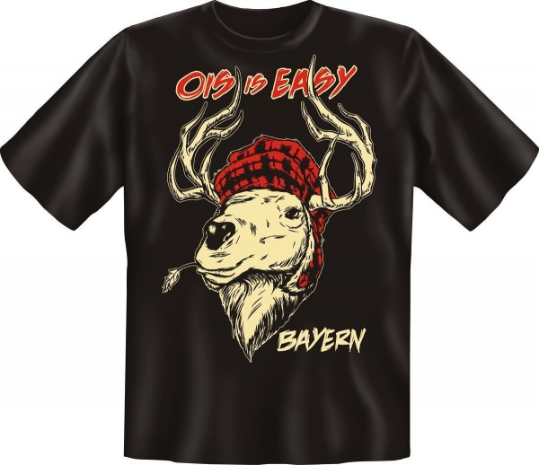 T-Shirt, Ois is Easy - Bayern