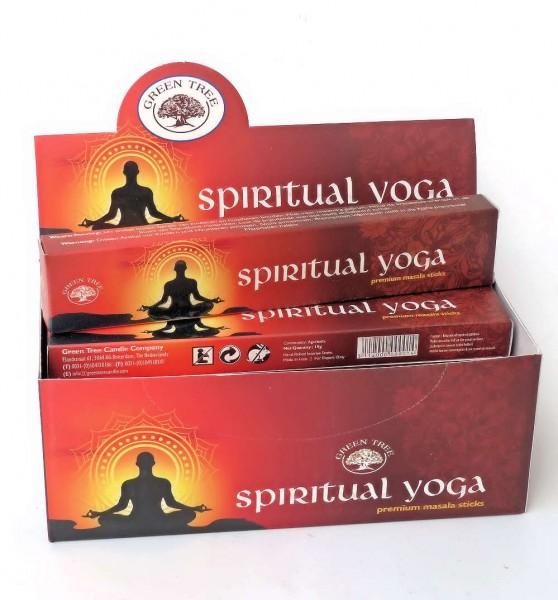 Spiritual Yoga, Räucherstäbchen
