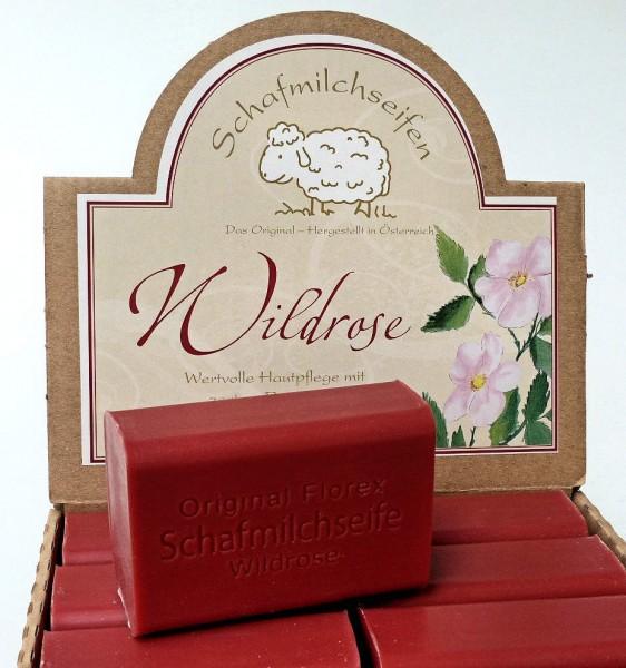 Wildrose Schafmilchseife