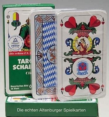 Schafkopfkarten, Bayerisches Bild