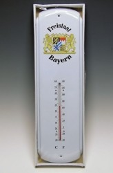 Thermometer mit Bayernwappen