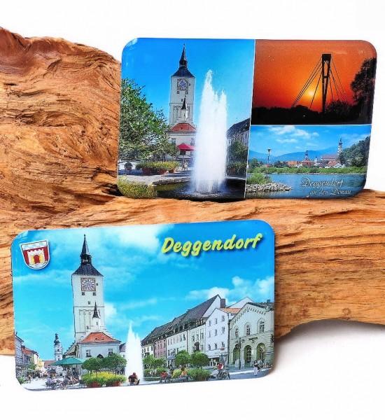 Magnet Bild Deggendorf, pro Stück
