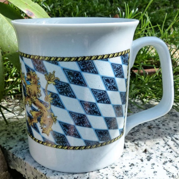 Becher-Tasse Bayernraute