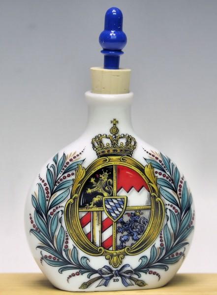 Schnupferflasche, Königswappen