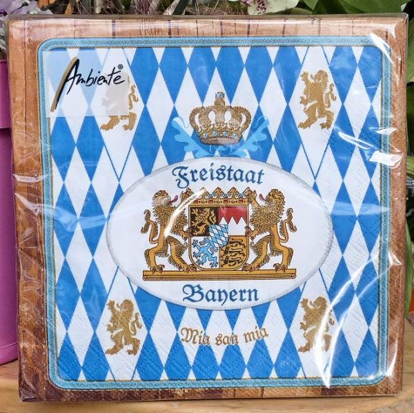 Freistaat Bayern, Servietten