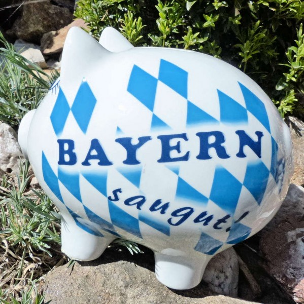 Sparschwein Bayern saugut