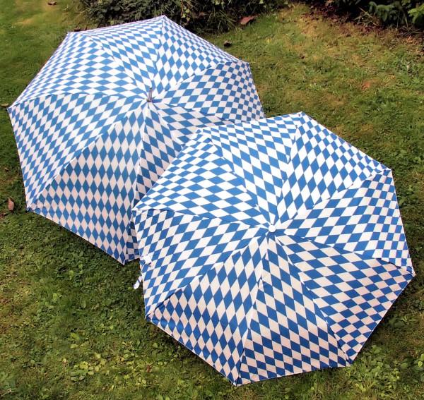 Regenschirm Bayern-Raute