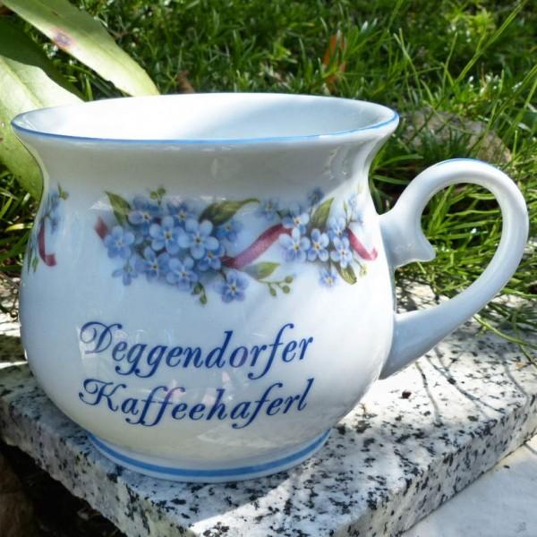 Vergissmeinicht, Haferl bauchig Deggendorf