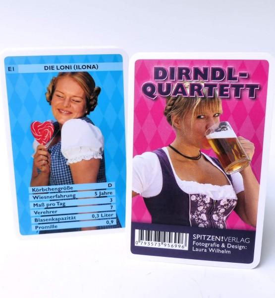 Dirndl-Quartett, Kartenspiel