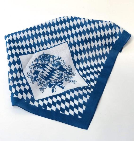 Nickytuch Bayern mit Wappen