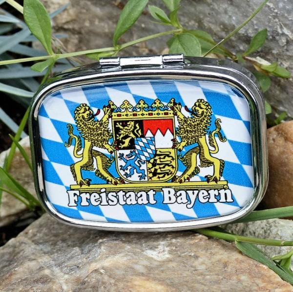 Pillendose Freistaat Bayern