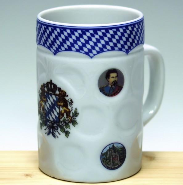 Bierkrugtasse Kaffeehaferl