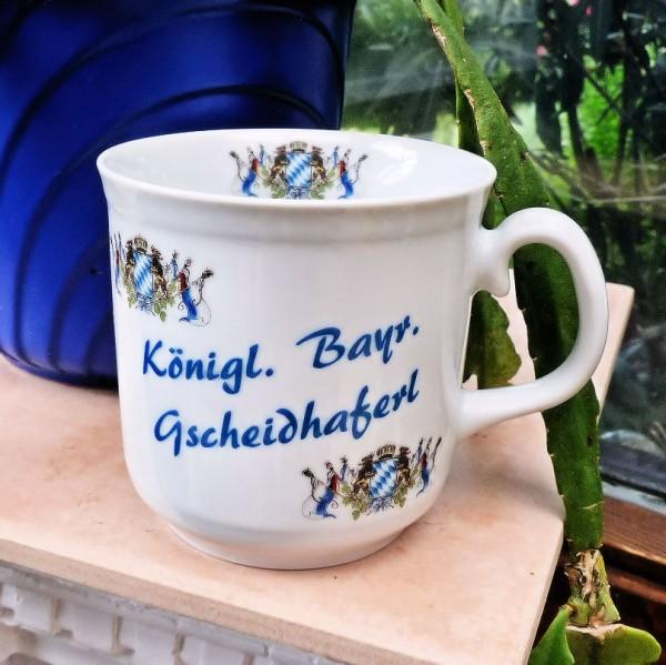 Gscheidhaferl mit Bayernfahne