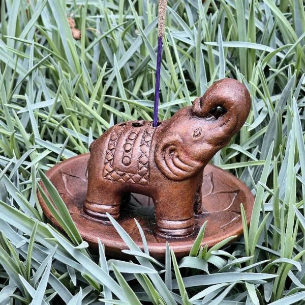 Elefant Stäbchenhalter, Ton