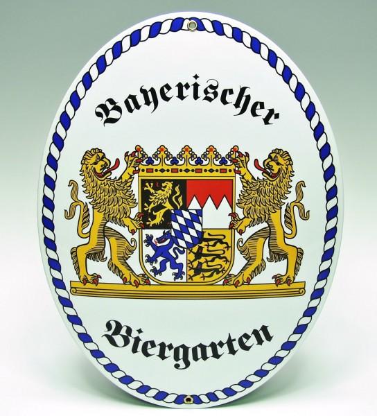Email-Schild, Bayerischer Biergarten XXL