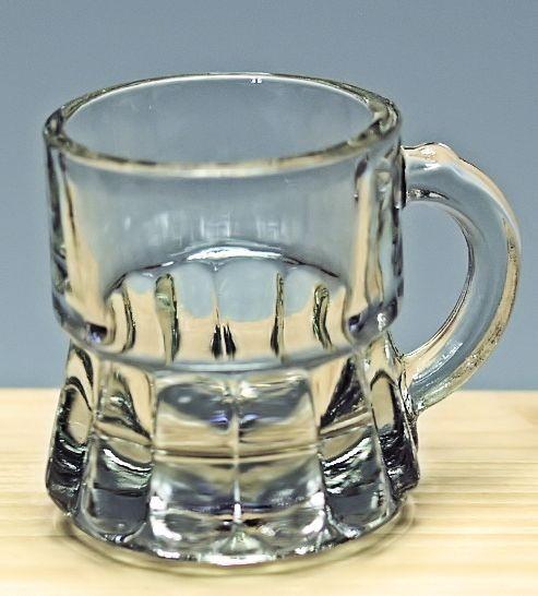 Glas-Stamperl natur 0,02L