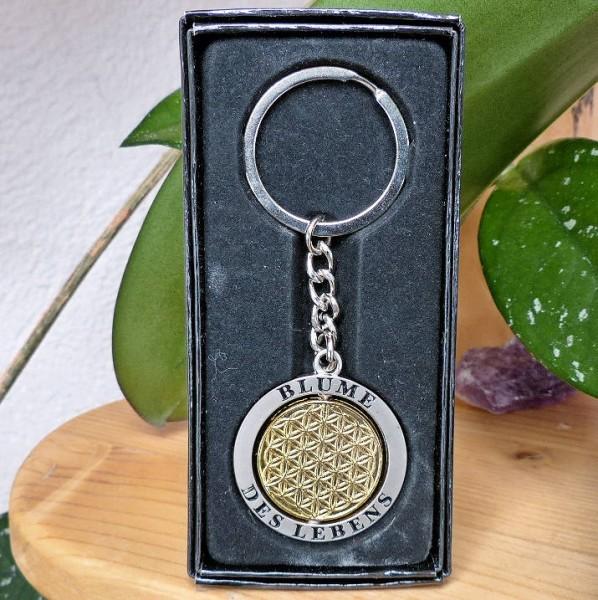 Schlüsselanhänger, Blume des Lebens
