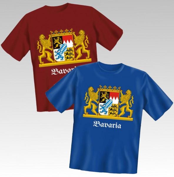 T-Shirt, -Bavaria Wappen-