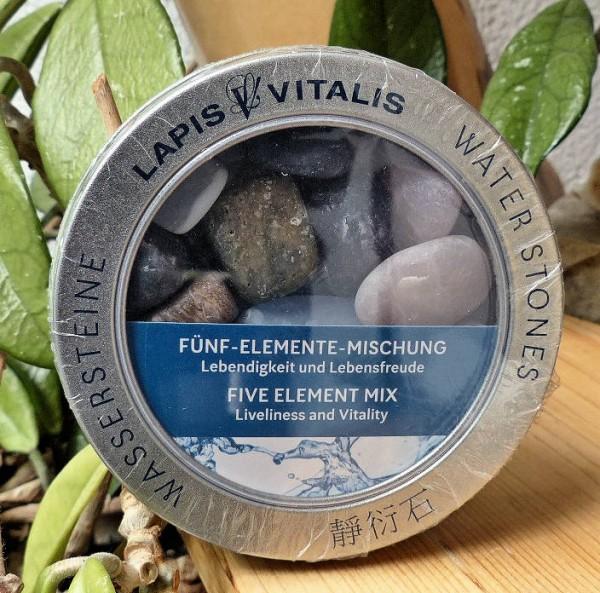 Fünf-Elemente-Wassersteinset, LapisVitalis